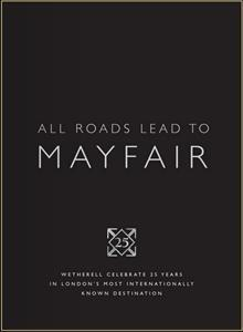 WETHERELL MAYFAIR MARKET REPORT JUNE 2012