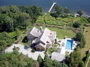 "RECORD SALE IN JAMESTOWN  ""Northpoint,"" a Spectacular Waterfront Retreat, Sells for $5.75M"