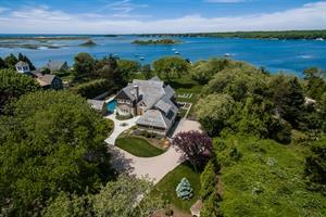 RECORD SALE IN CHARLESTOWN - Waterfront Retreat in Quonochontaug Sells for $3.95M