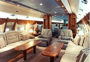 World's first luxury private jets showroom opens in London.