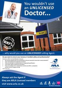 Why you should use an ARLA Licensed Estate Agent