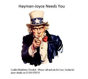 Leaflet Distributor Needed