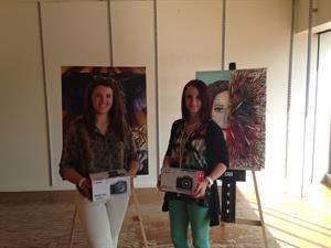 D C & Co donate cameras to Downham Road School Art Department