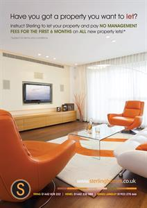 Lettings Promotional Offer For ALL NEW property lets.