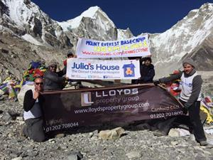Lloyds sponsor Everest trek