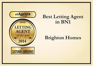 Best Letting Agent in Brighton Award
