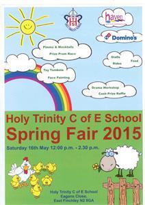 Holy Trinity Cof E Spring Fair