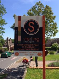 Sterling supporting Goldfield Primary School in Tring as they celebrate