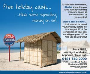 Holiday Money Cashback Offer!