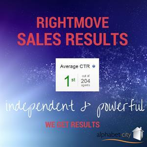 RIGHTMOVE SALES RESULTS ARE IN