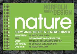 Norfolk By Design – March 18th – 20th 2016