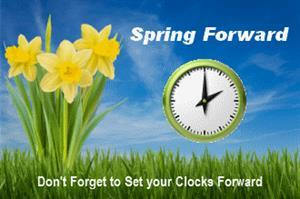 Set your clocks forward
