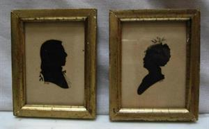 Period Features: Silhouette Portraits