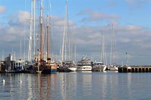 Poole Harbour in the Autumn