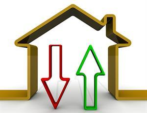 House Prices Dip for the First Time in Two Years