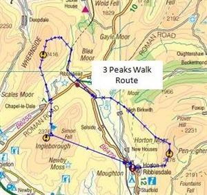 Ali takes on the Yorkshire Three Peaks Challenge