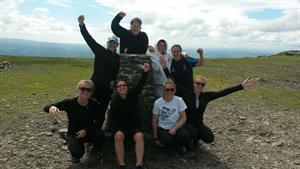 Ali & her hockey pals conquer the Yorkshire 3 Peaks!
