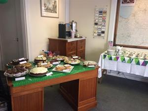MACMILLAN CANCER SUPPORT - SUCCESSFUL COFFEE MORNING