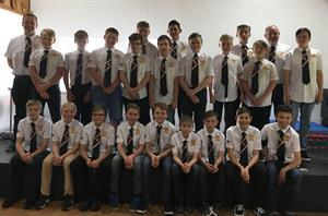 Lewis and Co sponsors St Austell RFC Under 13's