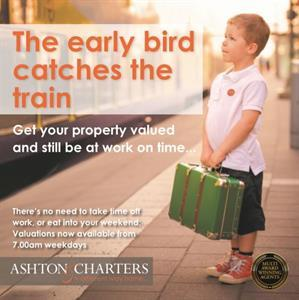 The Early Bird Catches The Train!