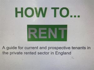 THE HOW TO RENT BOOKLET- Updated June 2018