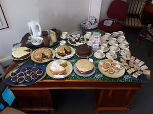 Macmillan Cancer Support - SUCCESSFUL COFFEE MORNING held at Geoffrey Clapp